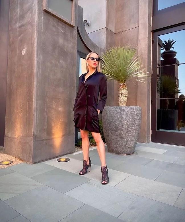 metallic boots fall winter 2021 fashion blogger eve dawes