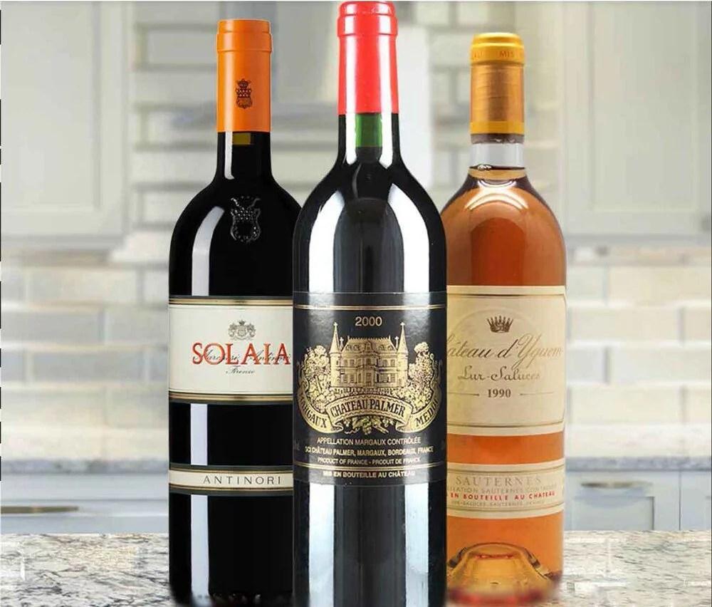 worlds most expensive wine membership Acker wine JK wine club 3 bottles luxury gifts