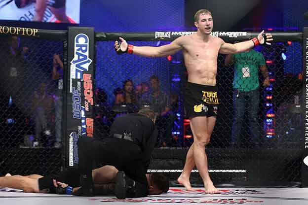 MMA knock out fight winner Cory Hendricks growth mindset expert