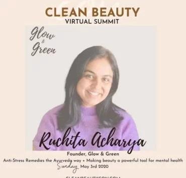 clean beauty expert Ruchita