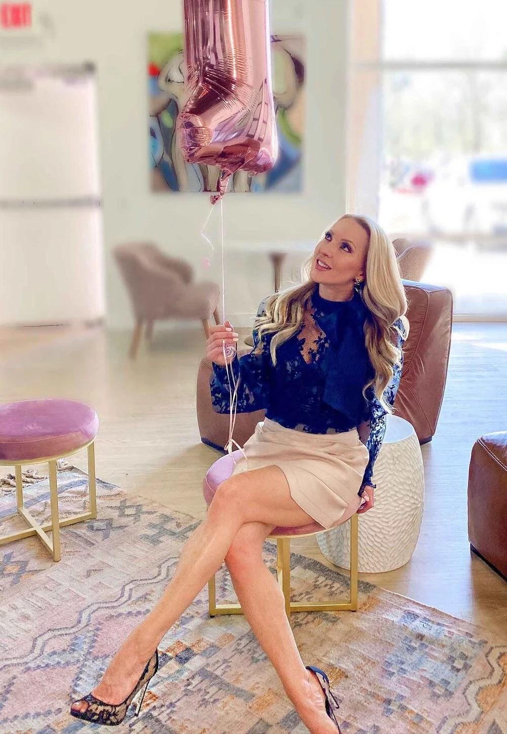 Spring Fashion Femme Lace finery black lace top fashion blogger Eve Dawes
