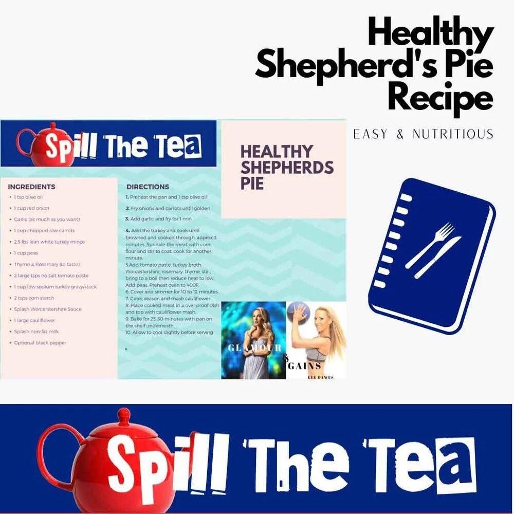 healthy shepherds pie recipe on BFF