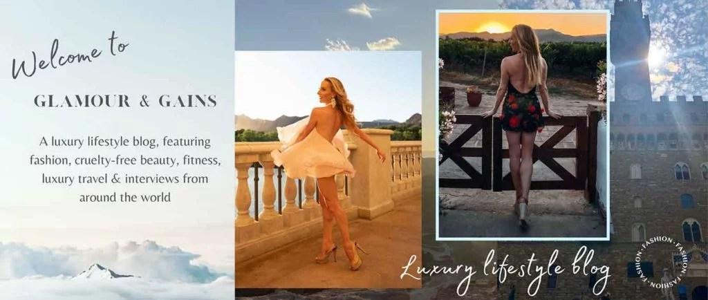 Luxury fashion blog Glamour Gains Style fashion beauty