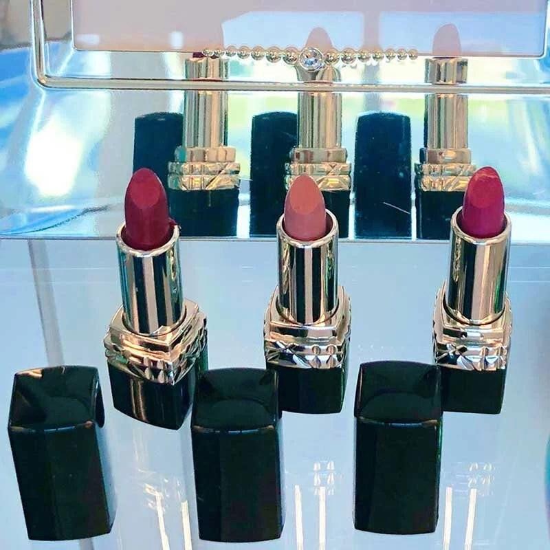 Mini lipstick trio red, pink, nude