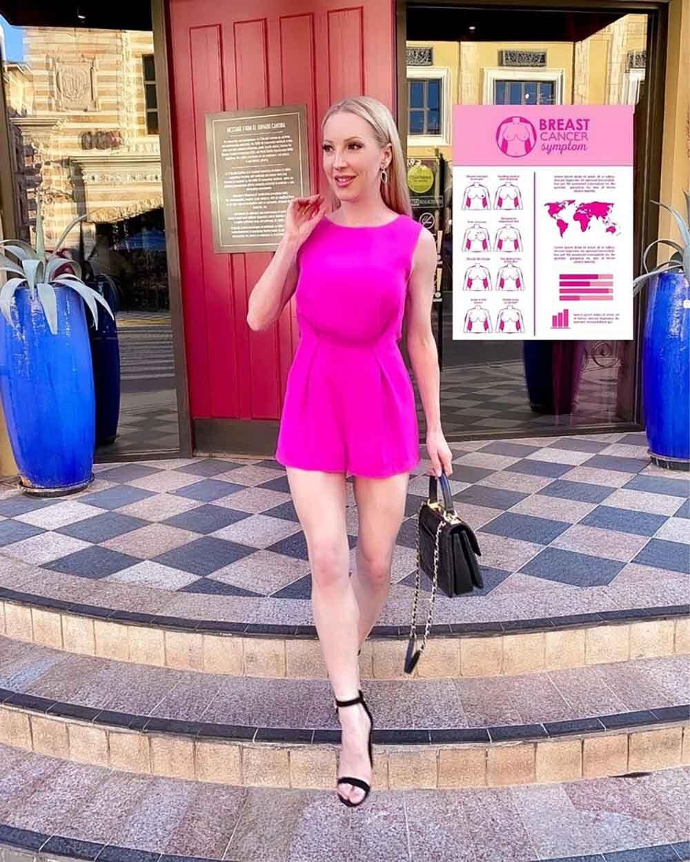 Pink romper fashion blogger Eve Dawes brunch