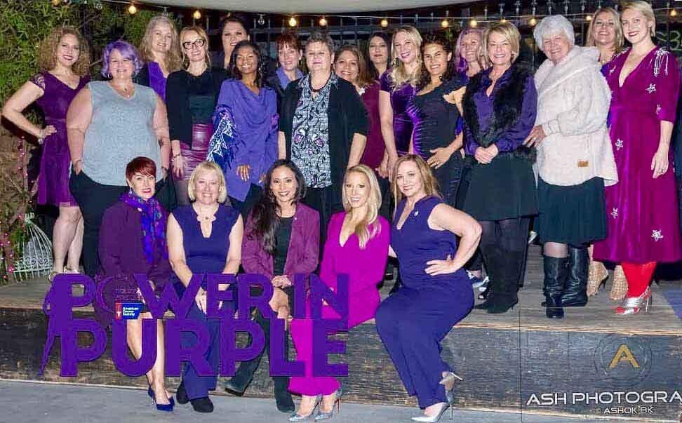 Women group cancer awareness advocates Vegas