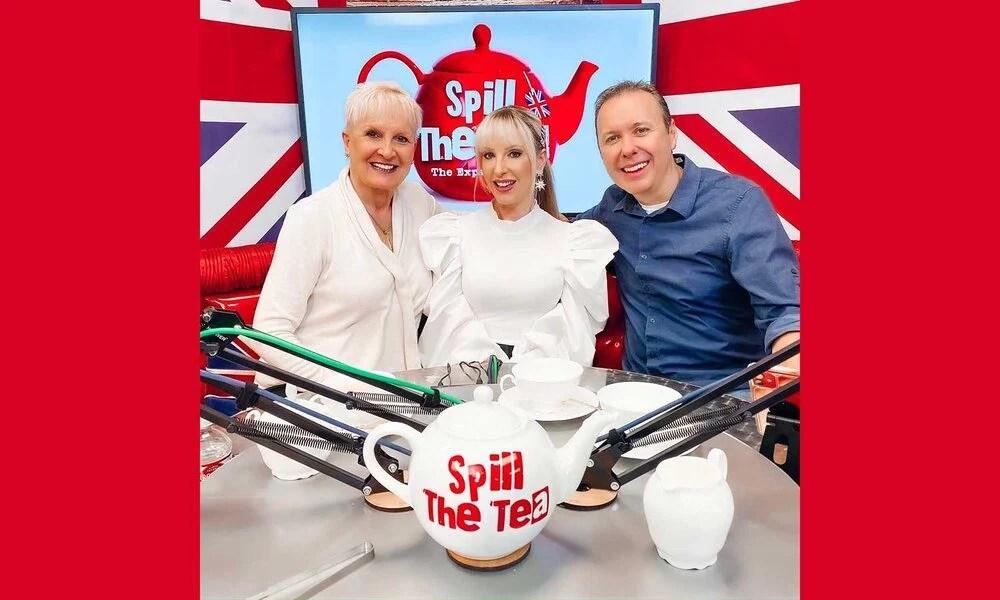 hosting spill the tea Ian Eve Dawes