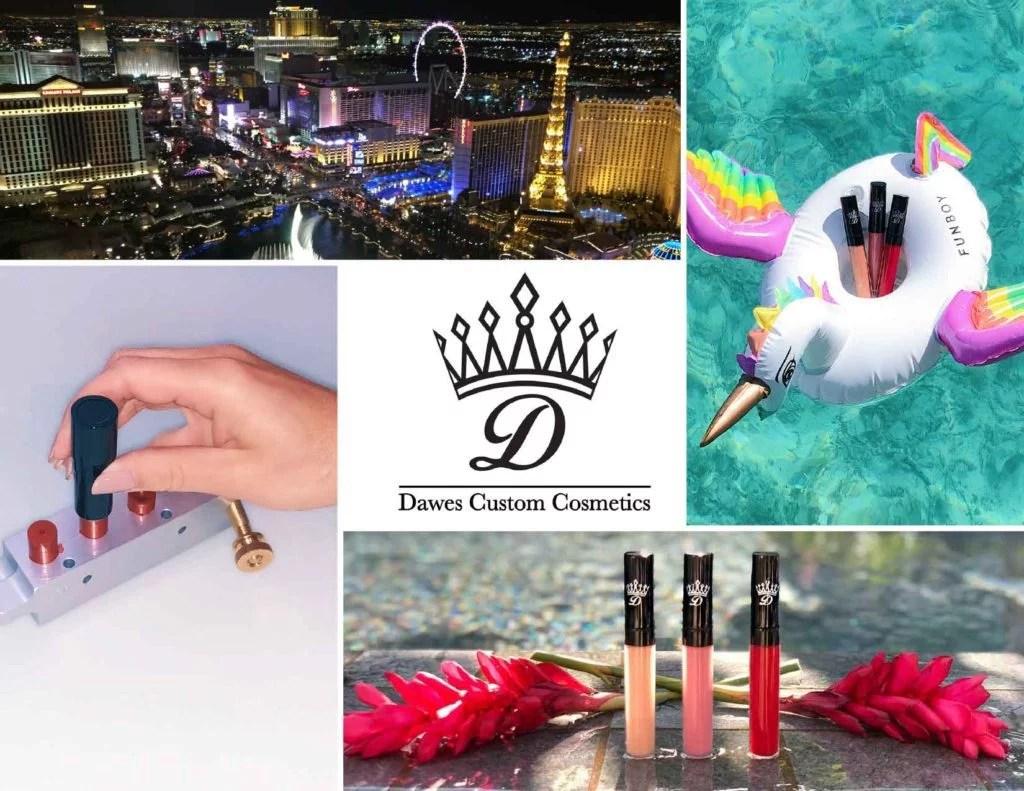 Custom lipstick Vegas Dawes Cosmetics