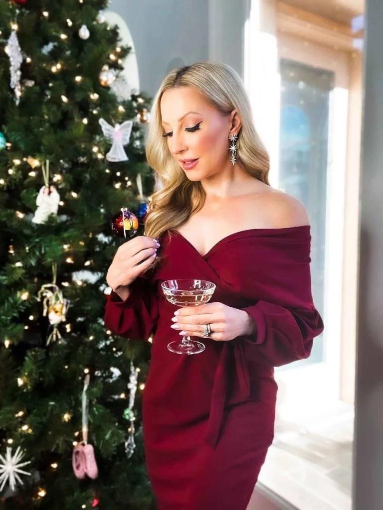 glamour gains beauty christmas tree 2021