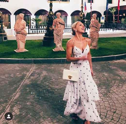 summer 2020 fashion outfit inspiration liketoknowit blogger Eve Dawes white ruffles dress