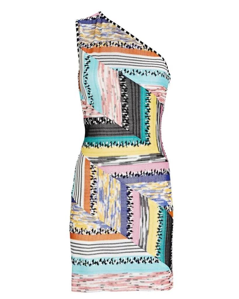 Missoni patchwork dress SS2021 Intermix fashion
