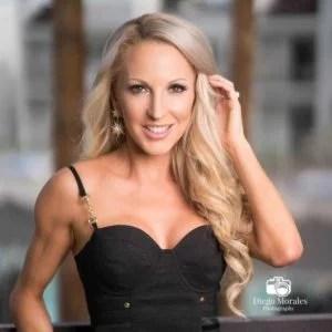 summer makeup looks bronzed blonde beauty blogger Eve Dawes