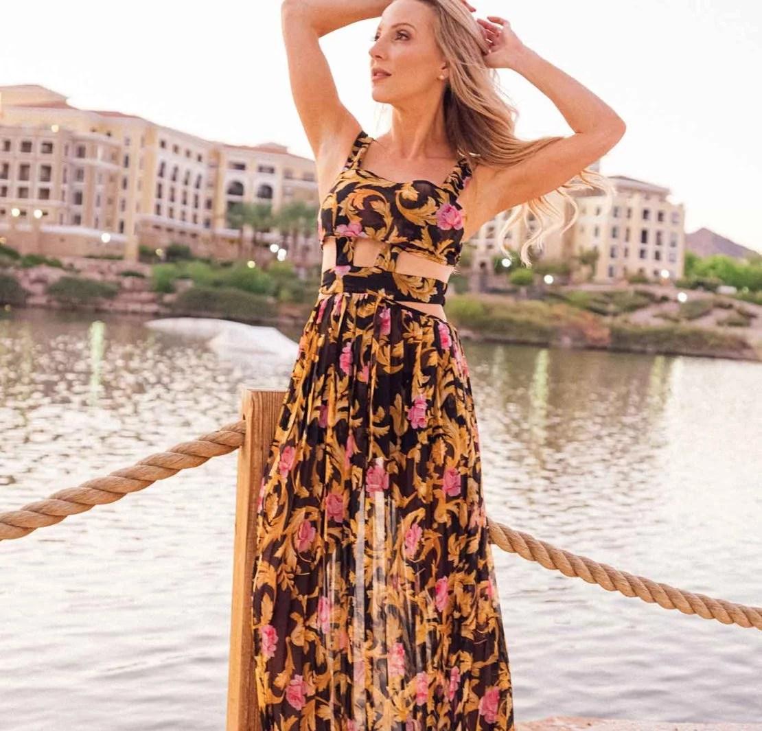 2021 fashion trends spring summer style fashion blogger maxi dress