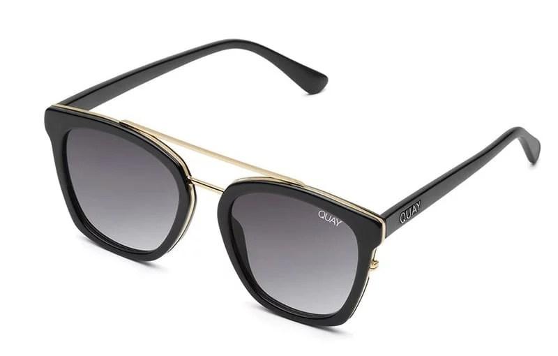 Quay black sunglasses summer trend