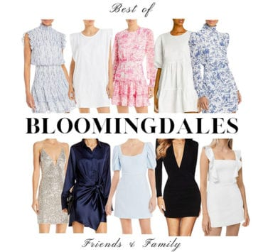 Bloomingdales friends and family sale womens best fashion 2021