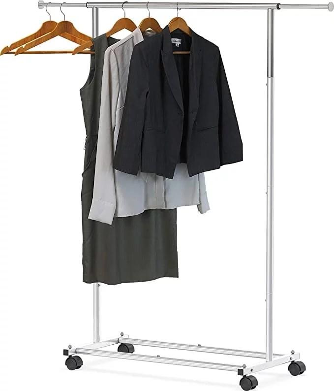garment wrack closet organizer amazon stainless steel