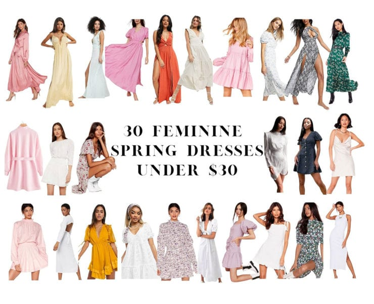 cute spring dresses 2021 womens fashion