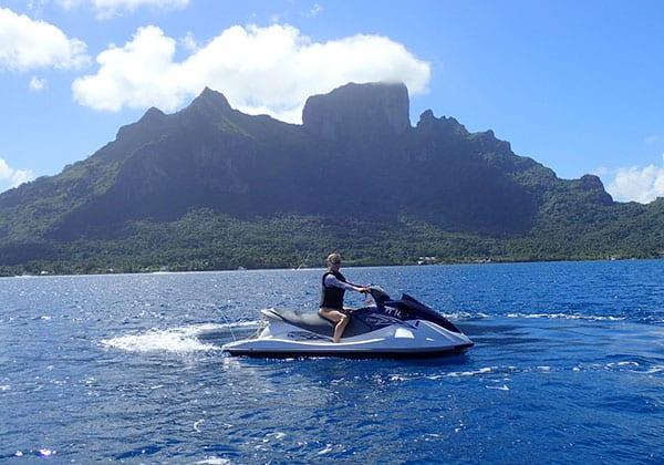 Jet ski tour Conrad Bora Bora Nui