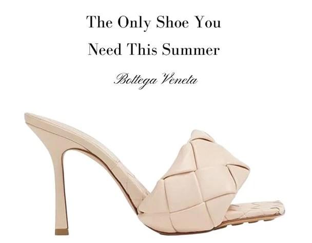 2021 fashion trends Bottega Veneta sandals The Lido IT shoes