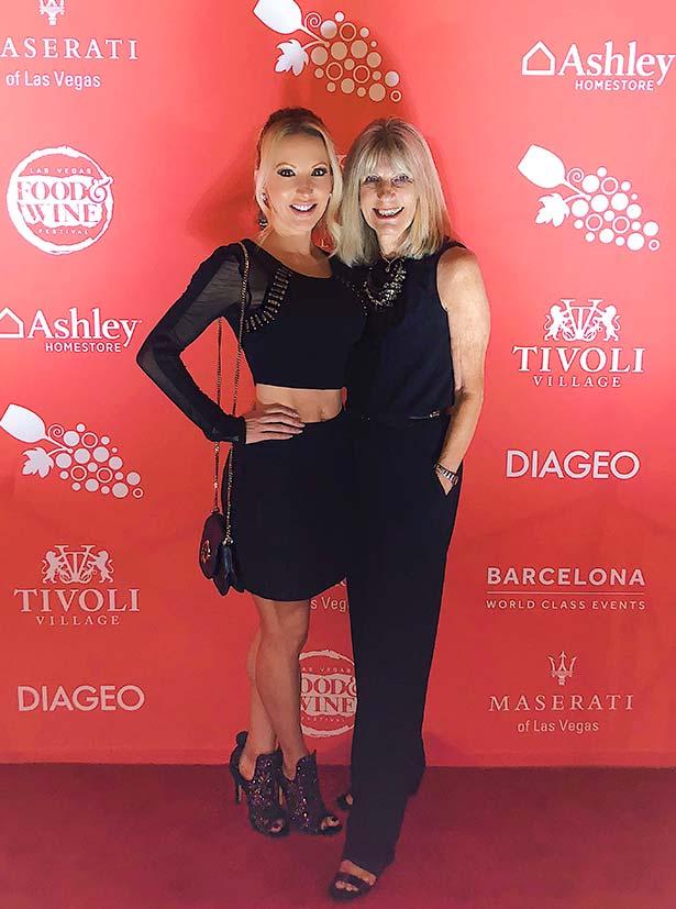 Fashion blogger Eve Dawes Mom red carpet