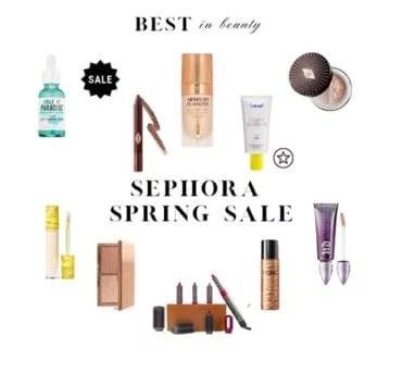 Sephora Sale Beauty Skincare Essentials Spring Summer 2021