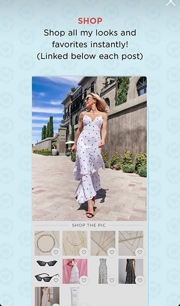 How shop liketoknowit app fashion influencer blogger Eve Dawes