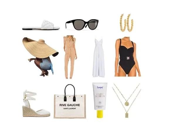 vacation essentials beach packing womens fashion