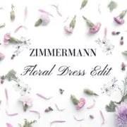 Zimmermann floral dresses womens summer fashion