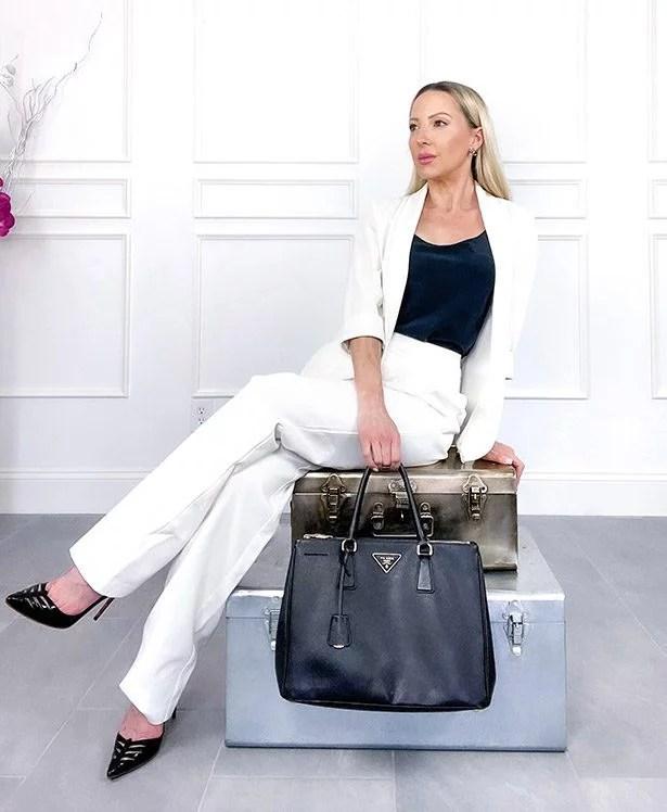 oversized tote bag trend 2021 prada saffiano