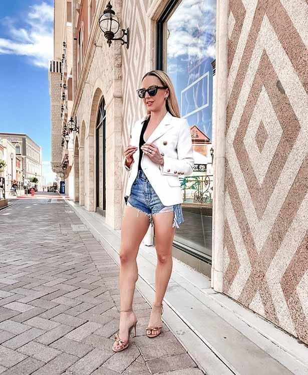 nude strappy heels summer fashion blogger Eve Dawes