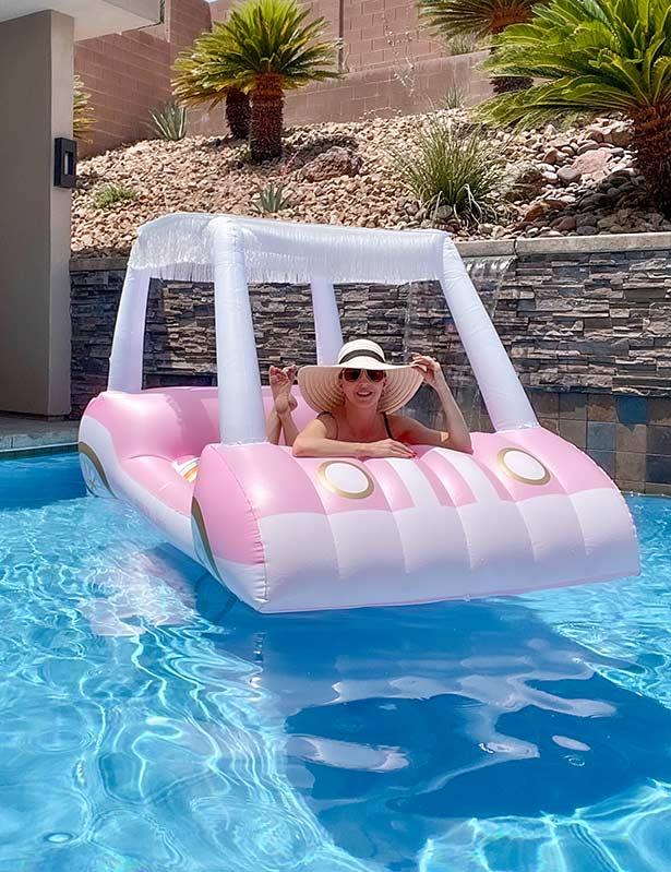 Barbie pool floaty summer fun kids adults