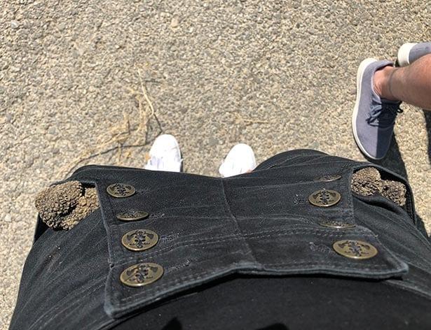 Pockets overflowing black truffles end tour