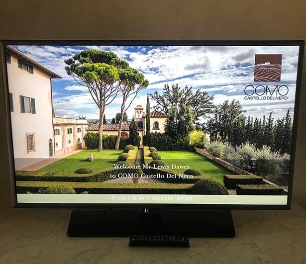 Como Castello Del Nero Tuscany gardens