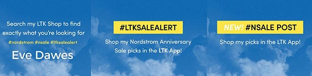 how use liketoknowit shop Nordstrom anniversary sale 2021