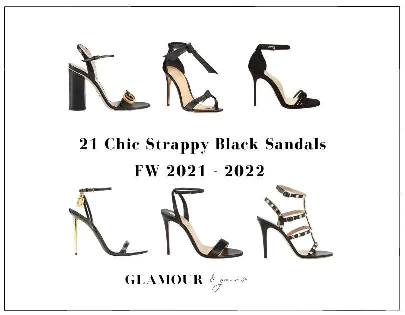 black strappy heels best womens sandals