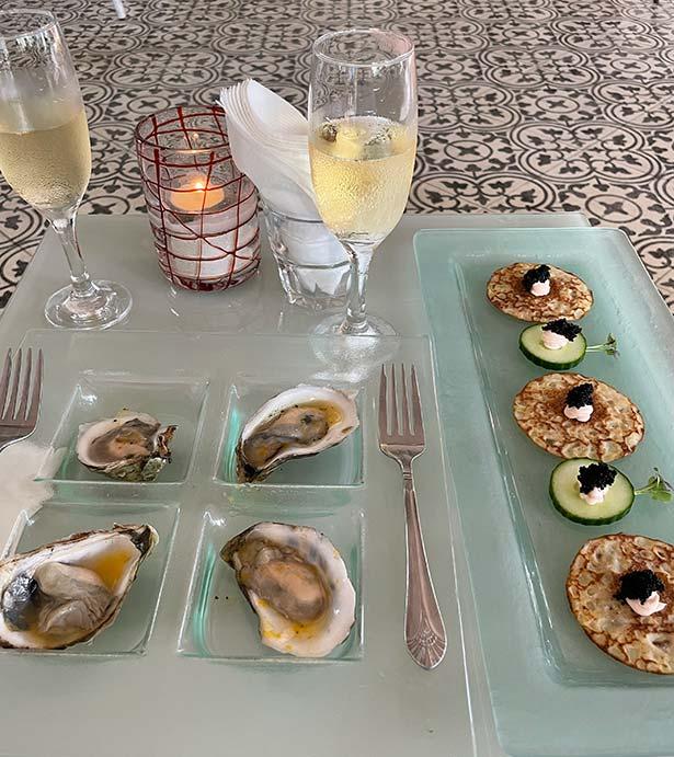Turks Caicos boutique hotels Beach House champagne caviar