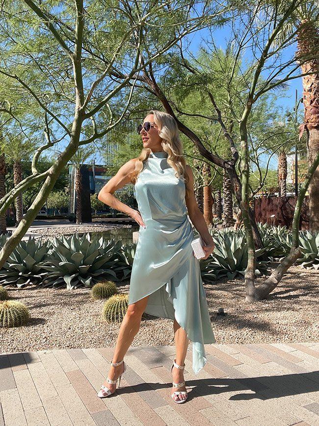fall wedding guest dress fashion blogger