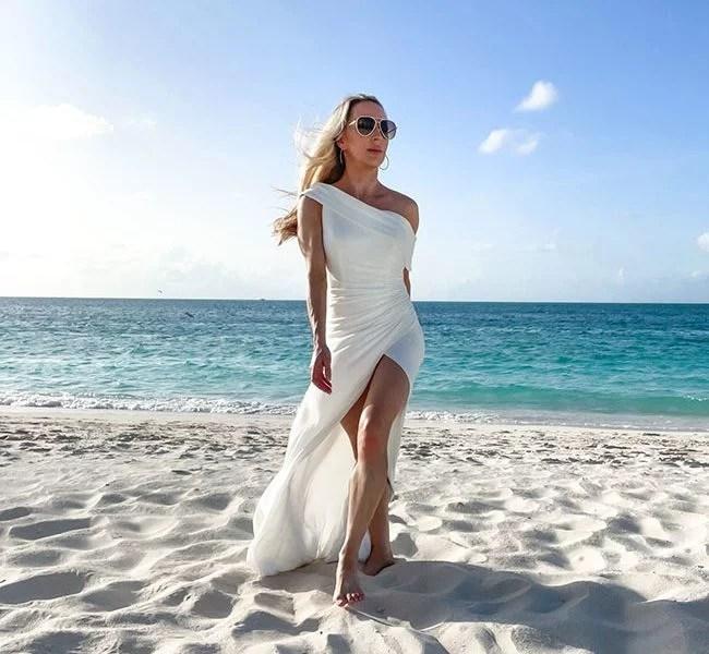 sexy wedding dresses bridal gowns bride beach