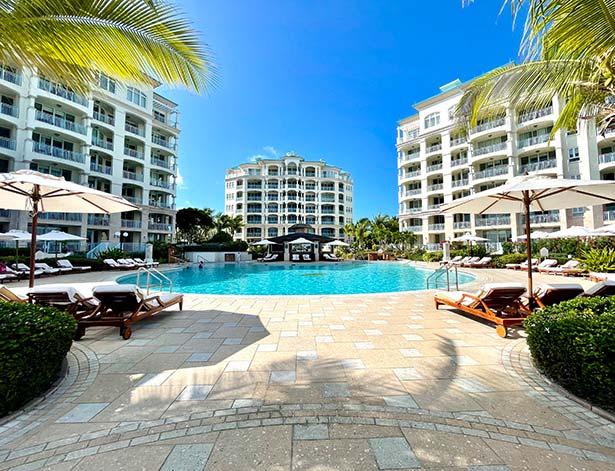 seven stars resort family pool