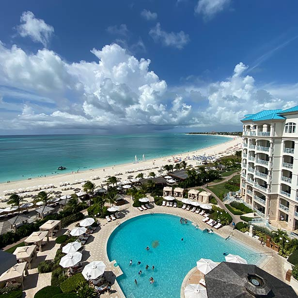 Seven Stars resort Turks Caicos hotel beach view oceanfront suite