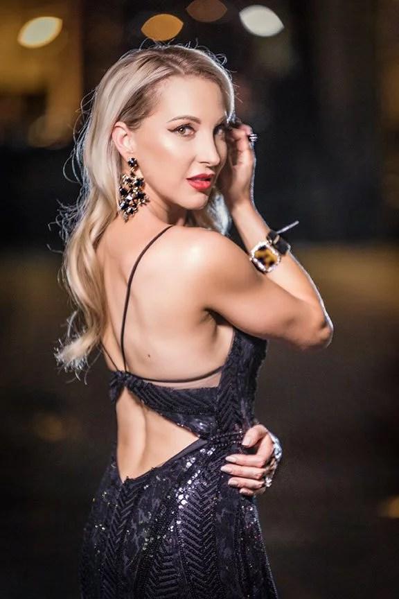 fall trends sequin dress fashion blogger Eve Dawes