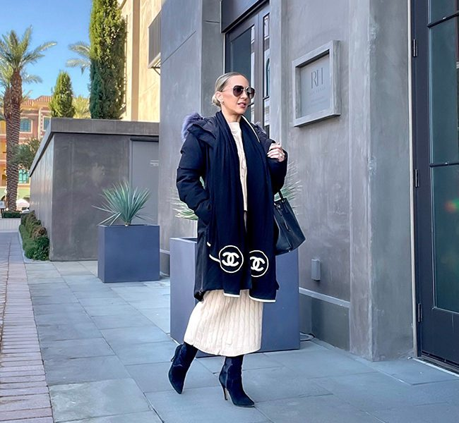 ways wear tall boots outfit style ideas glamour gains