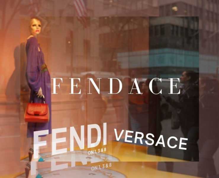 Fendace Fendi Versace collaboration