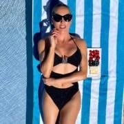 best luxury designer swimwear bikini model