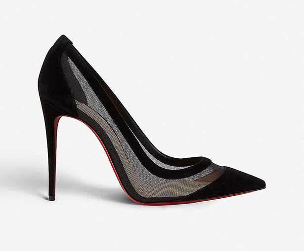 Christian Louboutin black pumps 100 best buys shoes