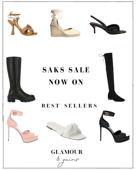 saks friends family sale womens shoes