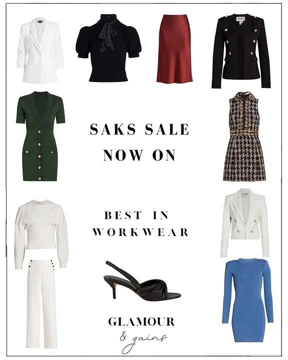 saks fifth avenue sale womens workwear dresses jackets blazers