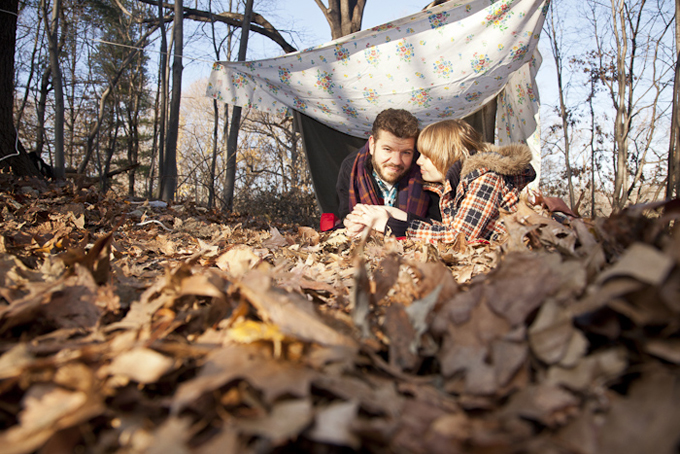 Cozy Fall Wallpaper An Autumn Camping Engagement Glamour Amp Grace