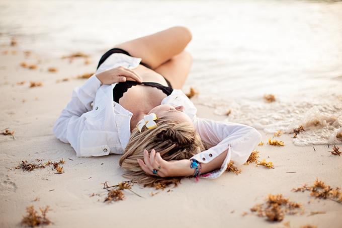 Mexico beach boudoir | Archetype Studio Inc