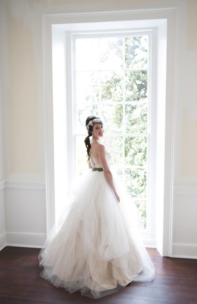 classic peach wedding | Sweet Tea Photography